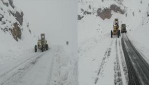 Büyükşehir Belediyesinin Kar Mesaisi Devam Ediyor
