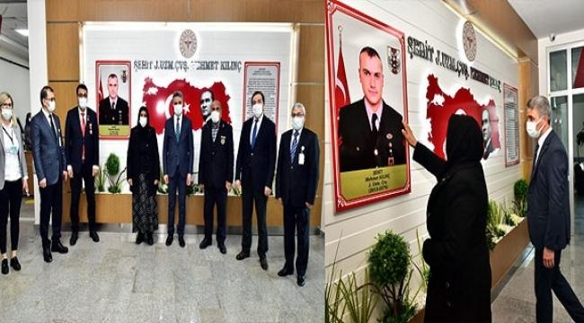 Şehit Mehmet Kılınç'ın Adı Ağız ve Diş Sağlığı Hastanesine Verildi