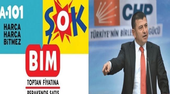 """Ağbaba: Esnafın Boğazındaki """"Zincir"""" AKP'nin Eseri!"""