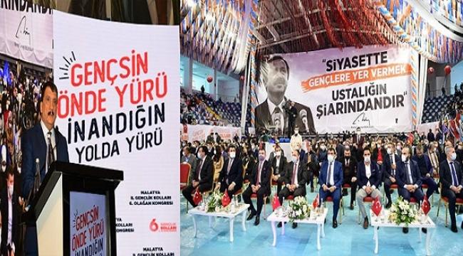 Başkan Gürkan AK Parti Gençlik Kolları 6. Olağan Kongresine Katıldı