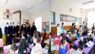 Gürkan'dan Yüz Yüze Eğitime Başlayan Öğrencilere Sürpriz