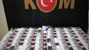 Malatya'da 11 Bin 400 Adet Makaron Ele Geçirildi