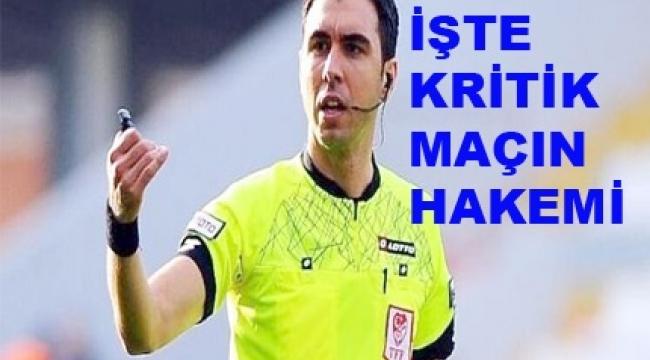 Süper Lig'de 39. Hafta Maçlarını Yönetecek Hakemler