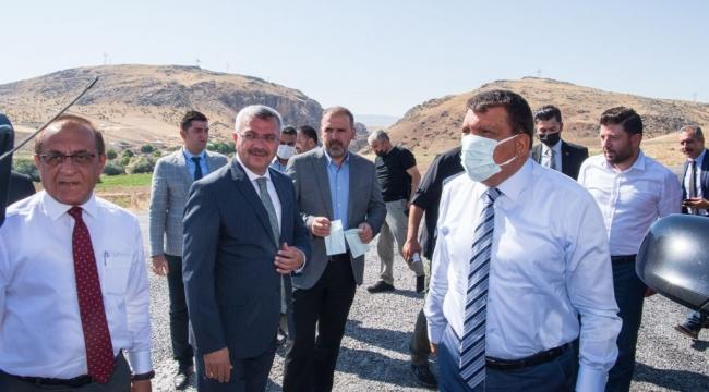 Başkan Gürkan Arapgiri Ziyaret Etti