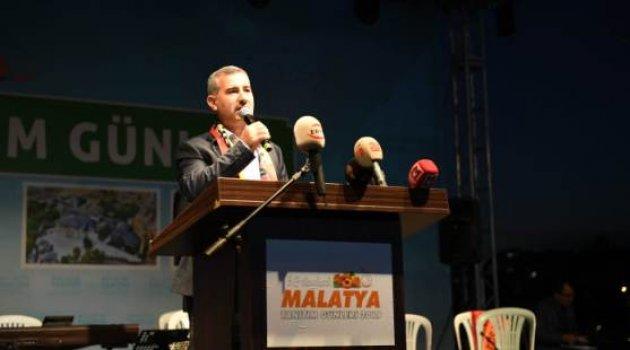 Başkan Çınar, 3.Malatya Tanıtım Günlerinin Açılışında Konuştu;