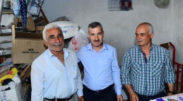 Başkan Çınar, Mahalle Ziyaretlerine Devam Ediyor