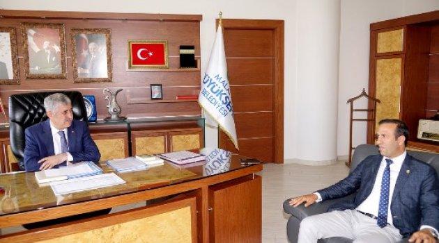 Başkan Gevrek'ten, Başkan Polat'a ziyaret