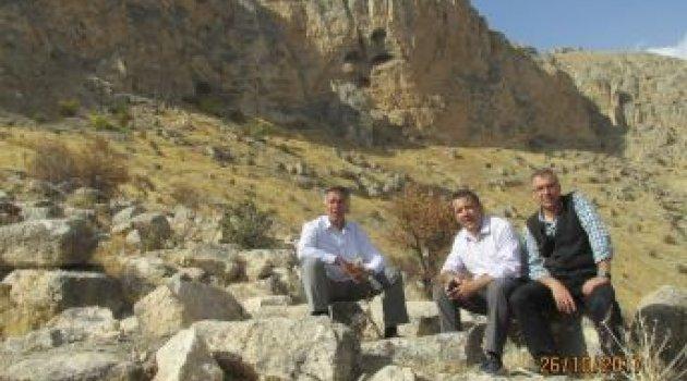 Ansır Mağaralarında restorasyon çalışmaları