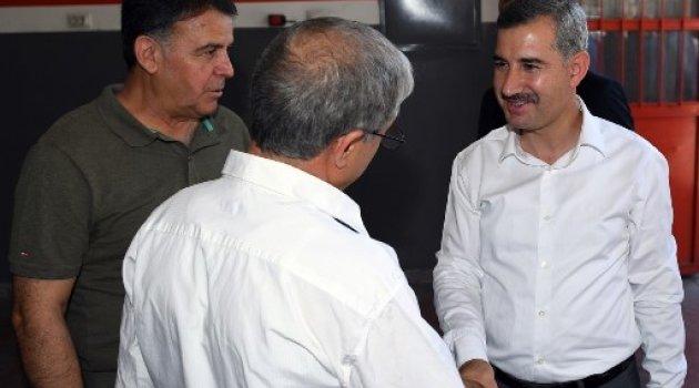 Başkan Çınar, Yeni Sanayi Esnafıyla Bir Araya Geldi