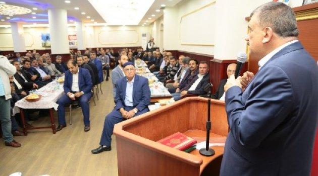"""Başkan Gürkan, """"Doğup Büyüdüğümüz Yerlere Karşı Görevlerimiz Var"""""""