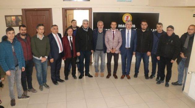 Başkan Polat , Gazetecilerle Bir Araya Geldi