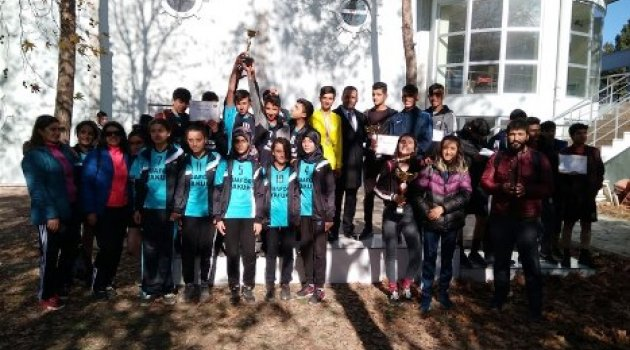 Kros İl Birinciliği yarışmaları yapıldı
