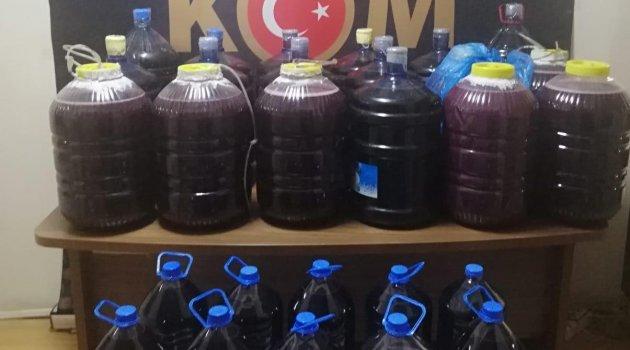 Malatya'da El Yapımı Şarapta: 1 Gözaltı