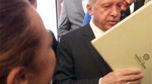 Malatya Turgut Özal Üniversitesi'nin proje dosyası Cumhurbaşkanı Erdoğan'a sunuldu