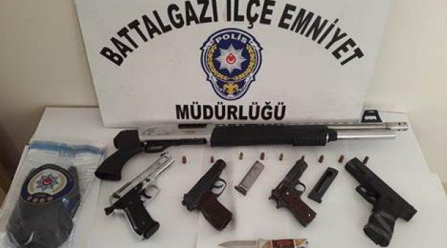 Malatya'da Huzur Operasyonu Yapıldı