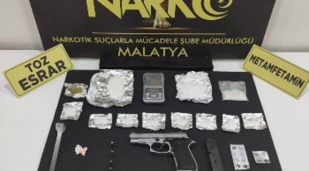 Malatya'da Zehir Tacirlerine Operasyon: 10 Tutuklama.