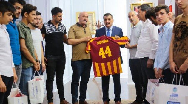 Malatyaspor Kulübünden Başkan Gürkan'a Ziyaret