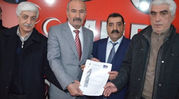 MHP'li Hasan Basri Yüksel Belediye Meclis Üyesi Adayı Oldu