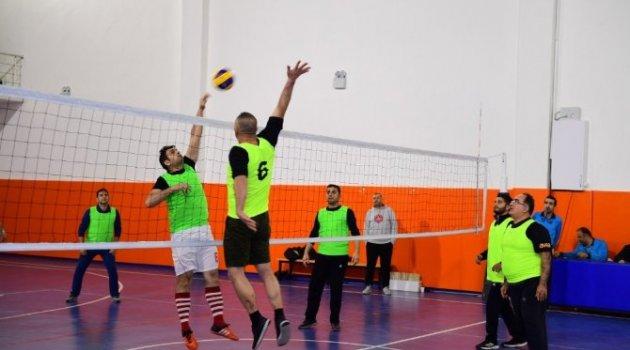Yeşilyurt Belediyesi, 'Birimler Arası Voleybol Turnuvası'