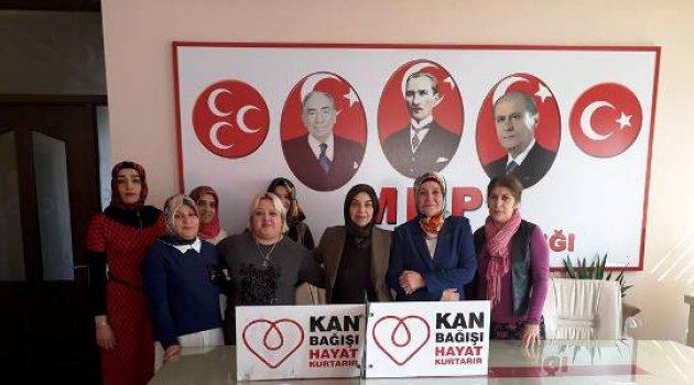 MHP'DEN MEHMETÇİKLER'E DESTEK