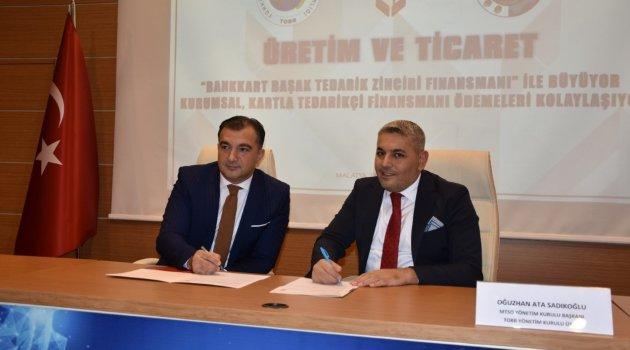 MTSO İle Ziraat Bankası Arasında Protokol İmzalandı
