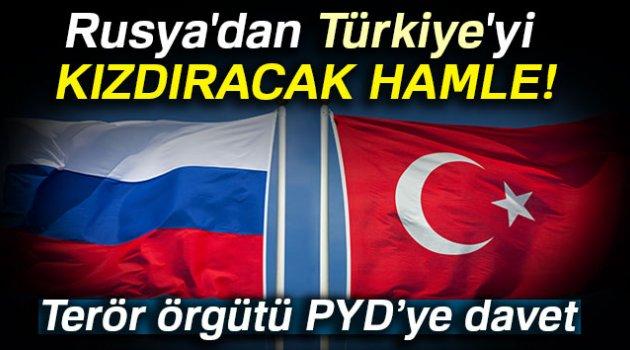 Rusya'dan terör örgütü PYD'ye davet