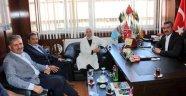 AK Parti Malatya Milletvekillerin 'den MHP 'ye Ziyaret