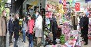 Başkan Güder, Fuzuli Caddesi Ensaflarını Gezdi