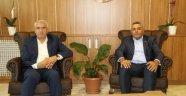 Başkan Güder'den  Başkan Sadıkoğlu'na Ziyaret