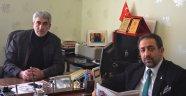 Başkan Gümüş'ten Gazetemize Nezaket Ziyareti