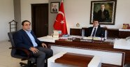 Başkan Gümüş'ten  Rektör Kızılay'a Ziyaret