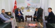 Başkan Gürkan'a Korucuları ve Şehit Aileleri Derneğinden Ziyaret