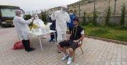 BYMS'de Futbolcu ve Personele Korona Testi Yapıldı