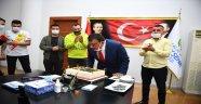 Derebeyleri Taraftarlar Grubu'ndan Başkan Gürkan'a Sürpriz Kutlama