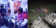 Direksiyon Hakimiyetini Kaybeden Otomobil Şarampole Uçtu; 6 Yaralı