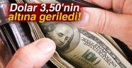 Dolar 3,50'nin altına geriledi! | 21 Ağustos 2017