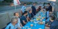 Kaymakam Duran ve Başkan Gürkan, Emniyet Mensupları İle Birlikte İftar Yaptı