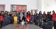 Malatya Bayan Futbol Takımından Başkan Gürkan'a Ziyaret