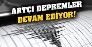 Malatya Ve Pütrge'de Artçı Depremler Devam Ediyor