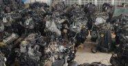 Malatya'da 40 Otomobil Motoru Ele Geçti