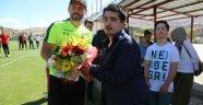 Özel Gereksinimli Bireyler, Evkur Yenimalatyaspor'un İdmanını Ziyaret Etti