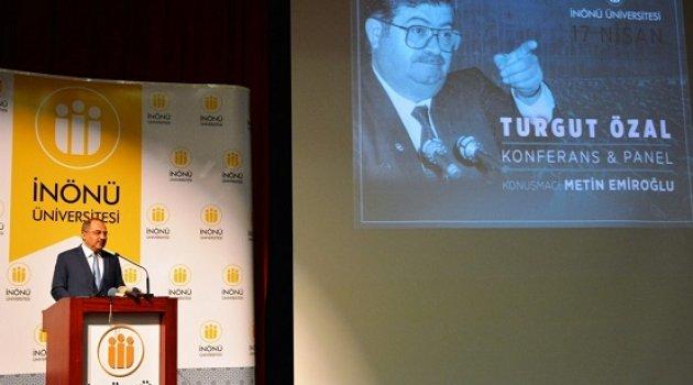 Turgut Özal Vefatının 25. Yıl Dönümünde Malatya'da Anıldı