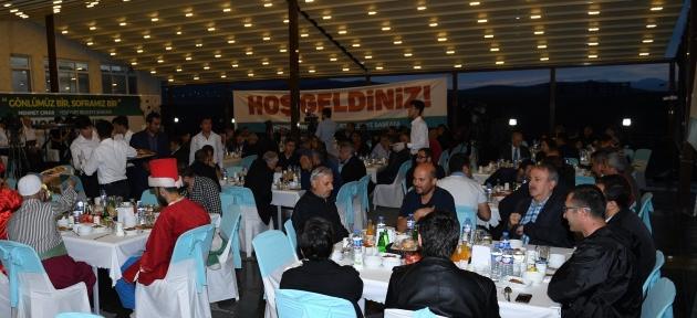 Başkan Çınar, Basın Mensuplarını İftarda Bir Araya Geldi