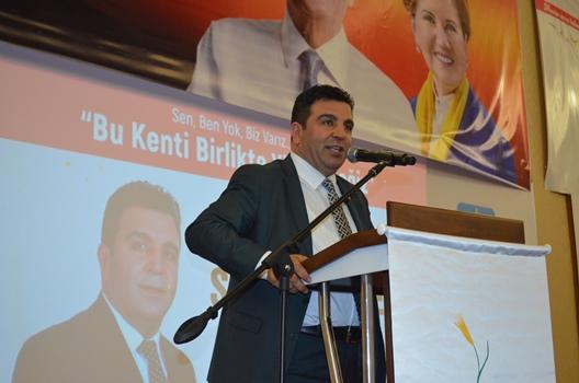 CHP Büyükşehir Adayı  Gökçe, Proje Tanıtım Toplantısı Yaptı