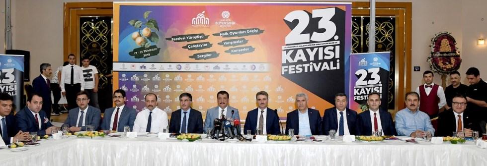 """Malatya """"Kayısı Festivali 17-21 Temmuz'da"""